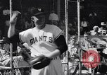 Image of New York Giants Baseball Team in Spring Training Phoenix Arizona USA, 1956, second 12 stock footage video 65675035516