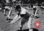 Image of Brooklyn Dodgers in Spring training Vero Beach Florida USA, 1956, second 7 stock footage video 65675035517