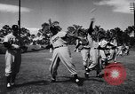 Image of Brooklyn Dodgers in Spring training Vero Beach Florida USA, 1956, second 12 stock footage video 65675035517