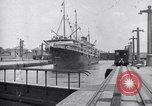 Image of ship Panama Canal, 1919, second 2 stock footage video 65675035518