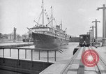 Image of ship Panama Canal, 1919, second 6 stock footage video 65675035518