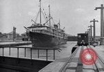 Image of ship Panama Canal, 1919, second 9 stock footage video 65675035518