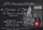 Image of steel mills Detroit Michigan USA, 1919, second 1 stock footage video 65675035519