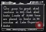 Image of ore freighter United States USA, 1920, second 2 stock footage video 65675035526