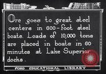 Image of ore freighter United States USA, 1920, second 5 stock footage video 65675035526