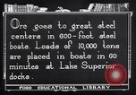 Image of ore freighter United States USA, 1920, second 10 stock footage video 65675035526