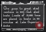 Image of ore freighter United States USA, 1920, second 11 stock footage video 65675035526