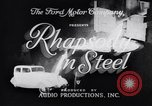 Image of Ford car factory United States USA, 1932, second 2 stock footage video 65675035530