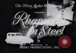 Image of Ford car factory United States USA, 1932, second 8 stock footage video 65675035530