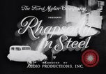 Image of Ford car factory United States USA, 1932, second 10 stock footage video 65675035530