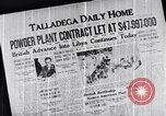 Image of War industries Talladega Alabama USA, 1942, second 11 stock footage video 65675035534
