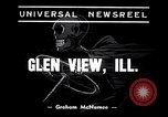 Image of car bus accident Glen View Illinois USA, 1938, second 3 stock footage video 65675035546