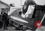 Image of car bus accident Glen View Illinois USA, 1938, second 9 stock footage video 65675035546