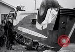Image of car bus accident Glen View Illinois USA, 1938, second 10 stock footage video 65675035546