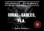 Image of Sam Snead as Santa Claus Coral Gables Florida USA, 1938, second 3 stock footage video 65675035548