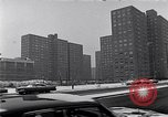 Image of Harlem high rise housing New York City USA, 1963, second 5 stock footage video 65675035549