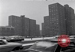 Image of Harlem high rise housing New York City USA, 1963, second 6 stock footage video 65675035549