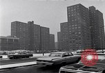 Image of Harlem high rise housing New York City USA, 1963, second 7 stock footage video 65675035549