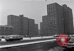 Image of Harlem high rise housing New York City USA, 1963, second 8 stock footage video 65675035549