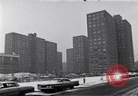 Image of Harlem high rise housing New York City USA, 1963, second 10 stock footage video 65675035549