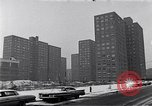 Image of Harlem high rise housing New York City USA, 1963, second 11 stock footage video 65675035549