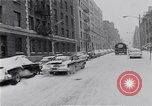 Image of Snow scene in Harlem New York City USA, 1963, second 11 stock footage video 65675035556