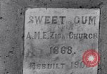 Image of Sweet Gum A.M.E. Zion Church Tuskegee Alabama USA, 1935, second 5 stock footage video 65675035573