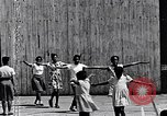 Image of teaching children at the Harlem Day Camp Harlem New York City USA, 1960, second 7 stock footage video 65675035582