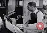 Image of Negro art school United States USA, 1949, second 2 stock footage video 65675035592