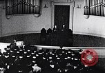 Image of Tuskegee University graduation ceremony Tuskegee Alabama USA, 1949, second 4 stock footage video 65675035596