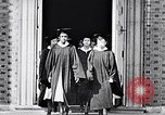 Image of Tuskegee University graduation ceremony Tuskegee Alabama USA, 1949, second 10 stock footage video 65675035596