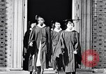 Image of Tuskegee University graduation ceremony Tuskegee Alabama USA, 1949, second 11 stock footage video 65675035596