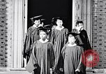 Image of Tuskegee University graduation ceremony Tuskegee Alabama USA, 1949, second 12 stock footage video 65675035596