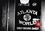 Image of Negro advancement in education Atlanta Georgia USA, 1949, second 3 stock footage video 65675035597