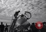 Image of F-104 plane Taiwan Kuang Kuan air base, 1960, second 9 stock footage video 65675035618