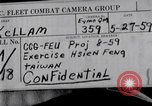 Image of Exercise Hsien Feng Taiwan, 1959, second 2 stock footage video 65675035660