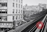 Image of buildings New York City USA, 1916, second 9 stock footage video 65675035664