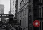 Image of Elevated train of the Interborough Rapid Transit System in Manhattan New York City USA, 1916, second 2 stock footage video 65675035665