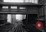Image of Elevated train of the Interborough Rapid Transit System in Manhattan New York City USA, 1916, second 8 stock footage video 65675035665