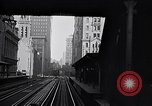 Image of Elevated train of the Interborough Rapid Transit System in Manhattan New York City USA, 1916, second 10 stock footage video 65675035665