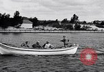 Image of rowing boat New York City USA, 1916, second 2 stock footage video 65675035668