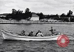 Image of rowing boat New York City USA, 1916, second 3 stock footage video 65675035668