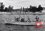 Image of rowing boat New York City USA, 1916, second 6 stock footage video 65675035668