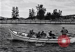 Image of rowing boat New York City USA, 1916, second 10 stock footage video 65675035668