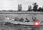 Image of rowing boat New York City USA, 1916, second 12 stock footage video 65675035668