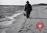 Image of beach patrol men New York City USA, 1916, second 6 stock footage video 65675035669
