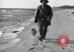 Image of beach patrol men New York City USA, 1916, second 9 stock footage video 65675035669