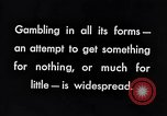Image of Forms of gambling New York City USA, 1939, second 8 stock footage video 65675035679