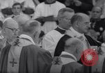 Image of Pope Paul VI formally elevates new Cardinals in Sistine Chapel Rome Italy, 1967, second 6 stock footage video 65675035695