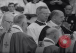 Image of Pope Paul VI formally elevates new Cardinals in Sistine Chapel Rome Italy, 1967, second 8 stock footage video 65675035695